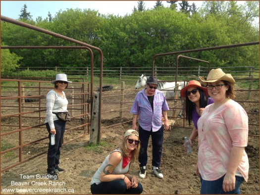 Team Building at Beaver Creek Ranch - Lumsden, SK