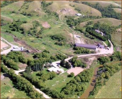 Beaver Creek Ranch and Horse Center - aerial photo
